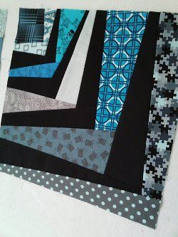Quilt block...can you imagine how awesome this would be as quilt...Your eyes would go nuts, I love this...great tute