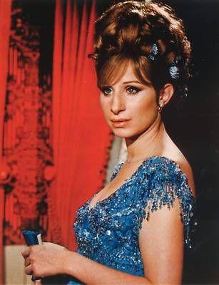 Barbra Streisand in Funny Girl (1968).