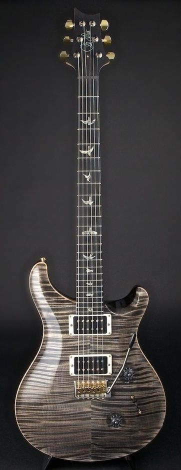 PRS Custom 24 Custom 24 Artist Pack Faded Grey Black  (via World Guitars)