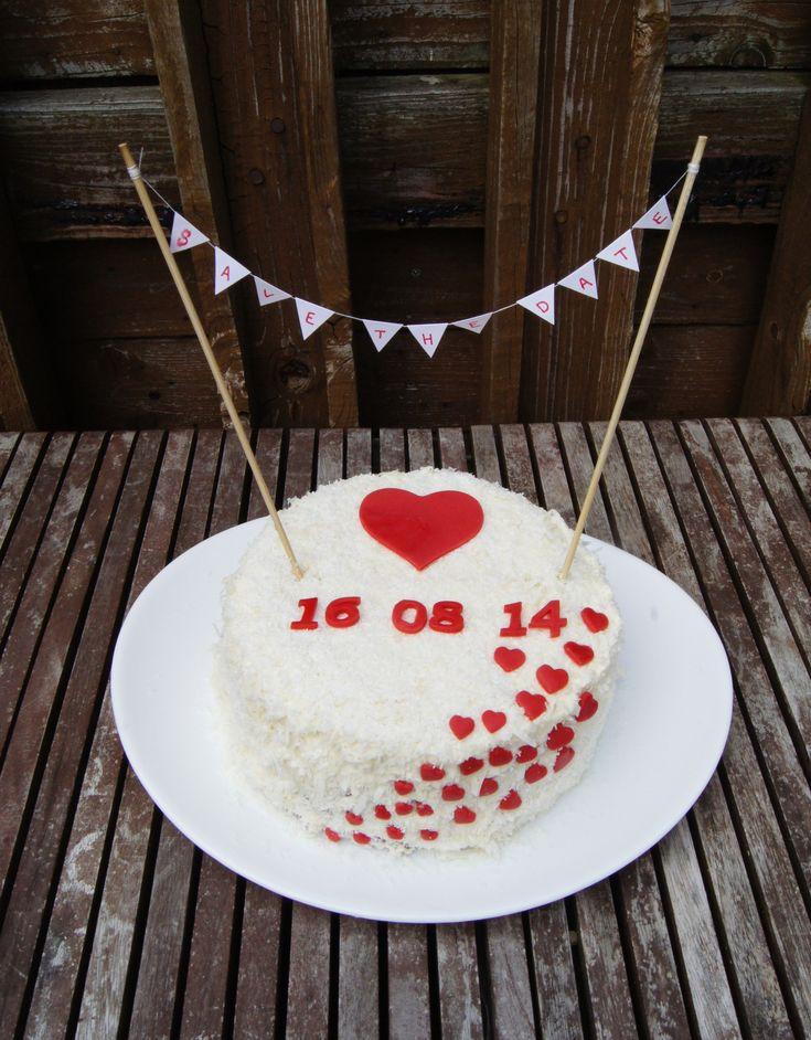 Gâteau Save The Date