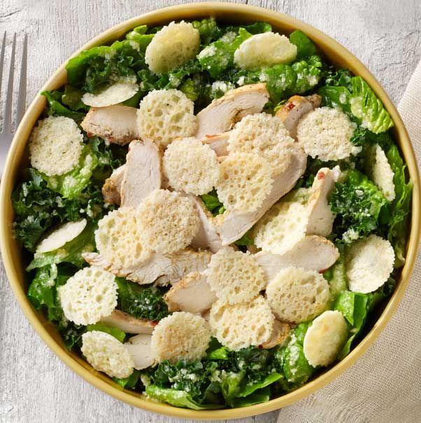 how to make panera chicken caesar salad