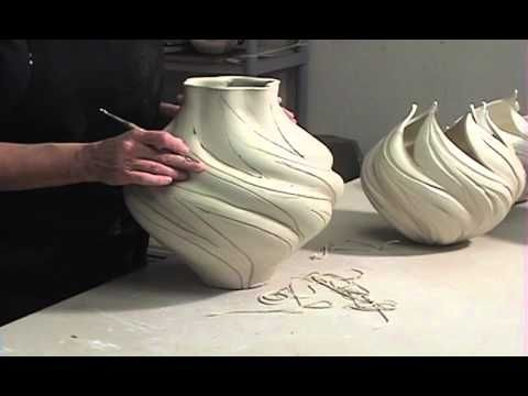 How to Turn A Wheel-Thrown Pot Into A Lighter-Than-Air Sculpture | JENNIFER McCURDY - YouTube