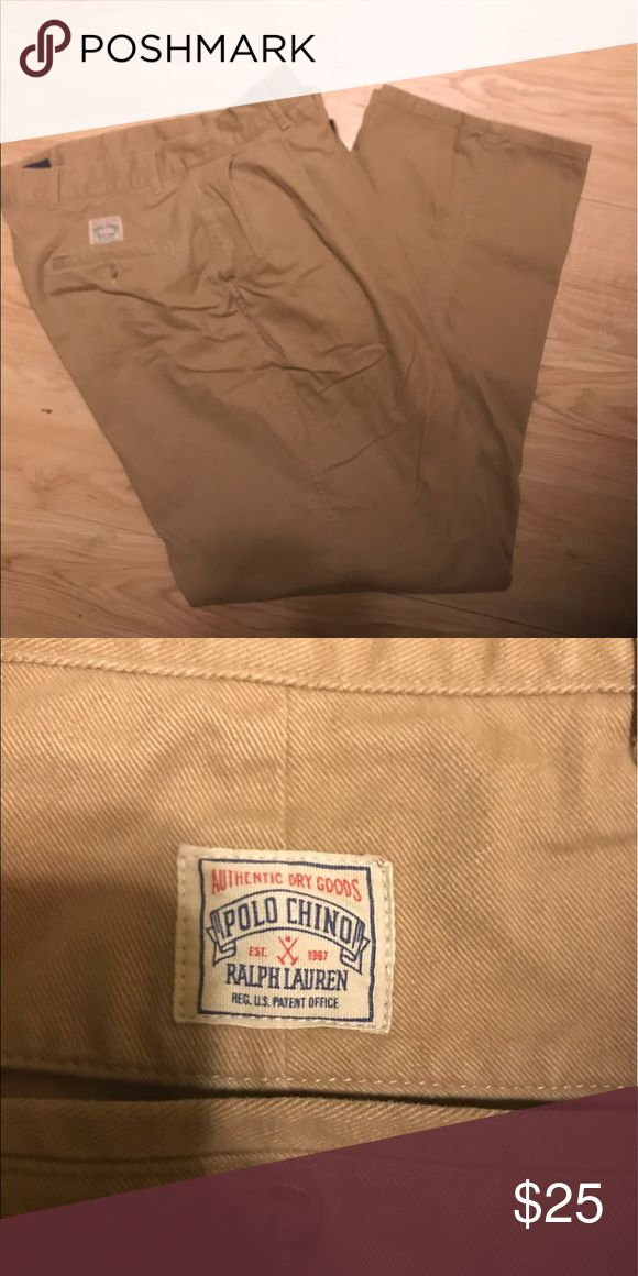 POLO BY RALPH LAUREN CHINOS KAKI JEANS SIZE 38:31 Polo by Ralph Lauren Pants Chinos & Khakis