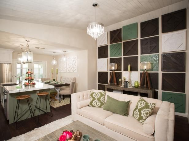 Aubrey and Bristol use clever design and craftsmanship to turn a small house with inconvenient layouts into an open concept masterpiece.