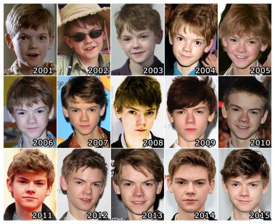 Thomas Sangster through the years .... did, did he get younger?