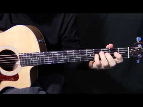 """how to play """"Over the Hills and Far Away"""" on guitar by """"Led Zeppelin"""" - acoustic guitar lesson - YouTube"""