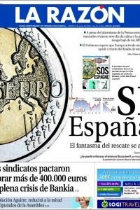LA RAZÓN. (Diario independiente de información general).