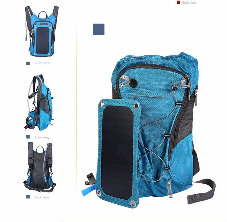 SOLAR POWER RESERVE Hydration Backpack