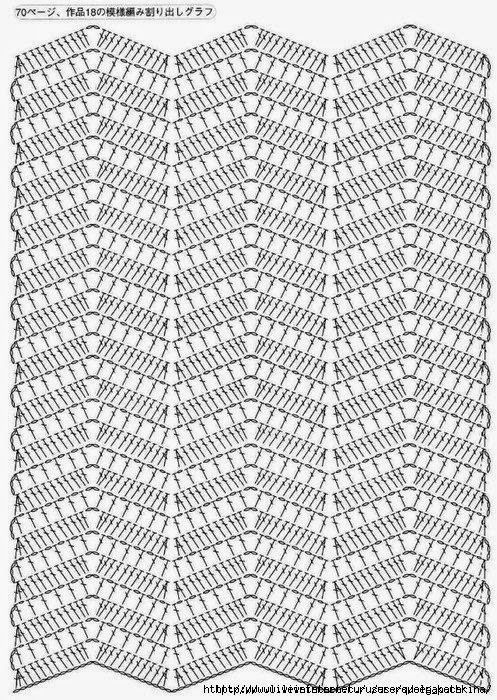 Best 244 גלים ideas on Pinterest | Crochet patterns, Crochet motif ...