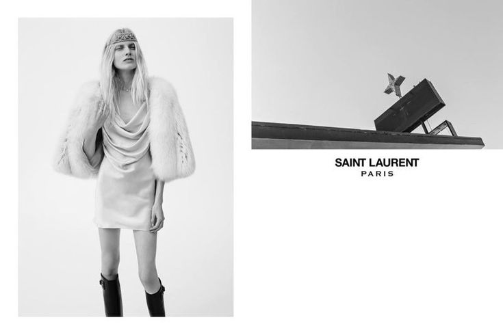 Saint Laurent Spring/Summer 2016 Advertising Campaign