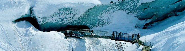 Grotte Mer de Glace à Chamonix