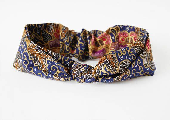 Ethnic Knotted Headband €15 on Etsy