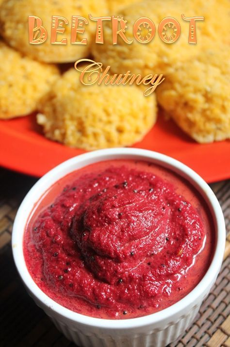 YUMMY TUMMY: Beetroot Chutney Recipe - Easy Chutney Recipes