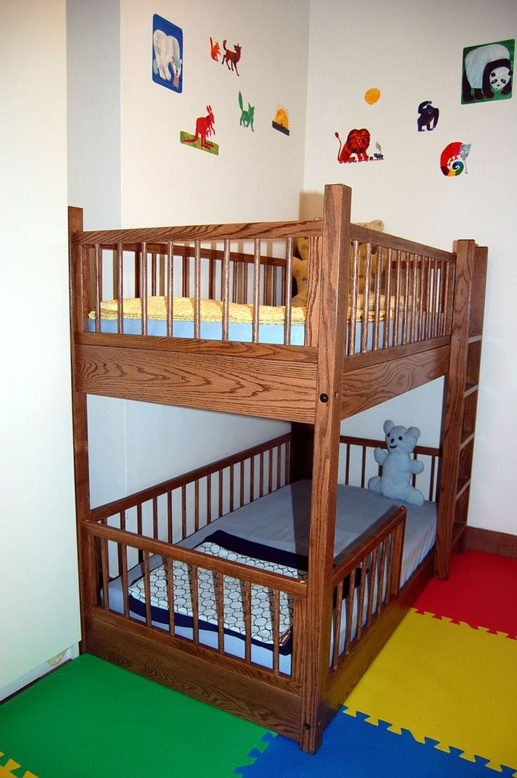 Cool bunk beds for 4 - Small Kids Room Strategy Toddler Size Bunk Loft Beds