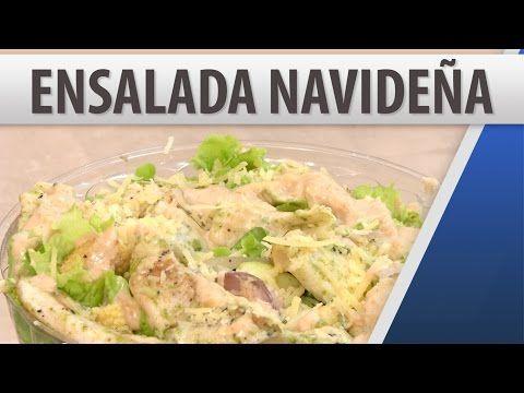 Ensalada Navideña / Recetas de Comidas / Cosmovision - YouTube