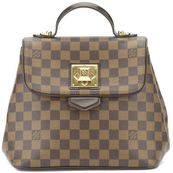 be0735edd70 Louis Vuitton Damier Ebene Bergamo PM Bag (Pre Owned)