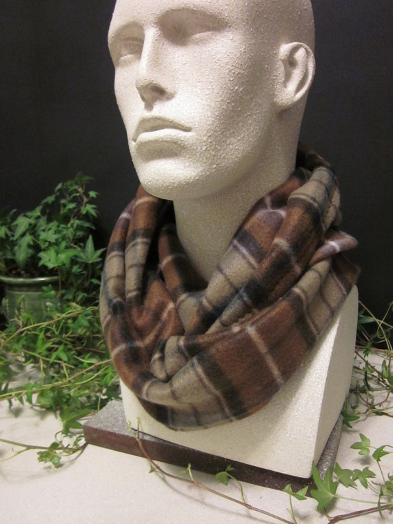 Men S Infinity Scarf Clothing Neck Scarves Mens