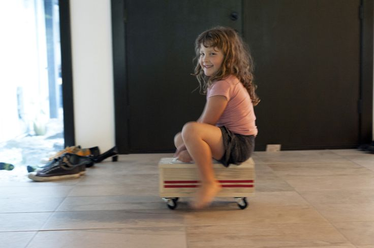DIY modern kids ride-on toy | Made by Joel