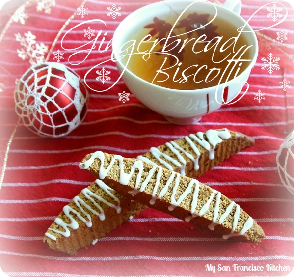 Gingerbread Biscotti: the perfect home-baked gift for the holidays!
