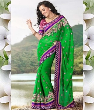 http://www.snapdeal.com/product/ishya-green-georgette-saree-with/258174?utm_source=Fbpost_campaign=Delhi_content=199999_medium=190912_term=Prod  Saree crafted uniquely for the angelic you