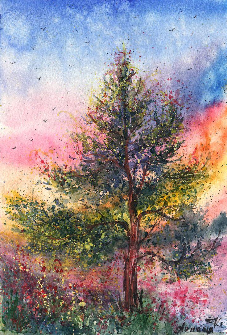 131 best Landscape Paintings ~ Watercolor images on Pinterest ...