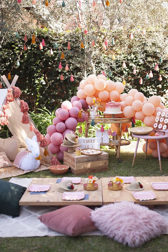 Earth Tone Llama Themed First Birthday Party Birthday Party