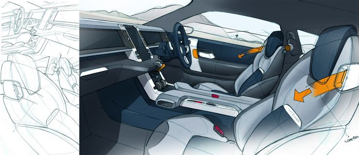 489 Best Car Interior Rendering Images On Pinterest Car Interiors Car Sketch And Interior