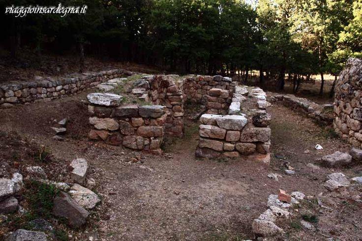 fonni, tempio nuragico a megaron gremanu
