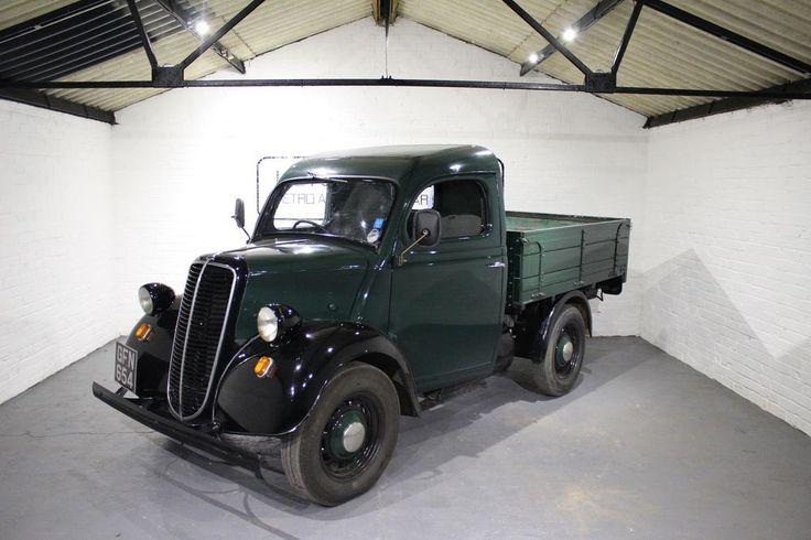 FOR SALE: 1954 FORDSON E83W PICK-UP TRUCK GREEN/BLACK | eBay