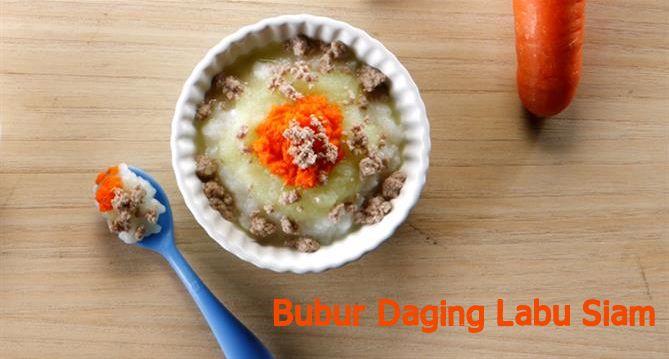Bubur Daging Labu Siam :: Klik link di atas untuk mengetahui resep bubur daging labu siam