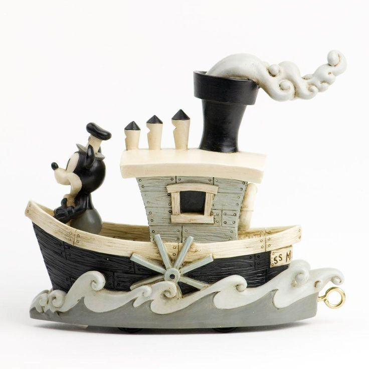 Disney Showcase Collection Steamboat Willie Parade Float Limited Edition