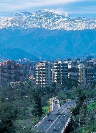 Disfruta de la hermosa vista de Santiago de Chile