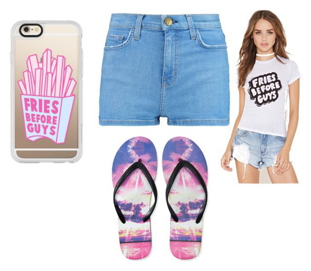 Fries before guys by aniarkdk on Polyvore featuring polyvore, fashion, style, Forever 21, Current/Elliott, Aéropostale, Casetify and clothing
