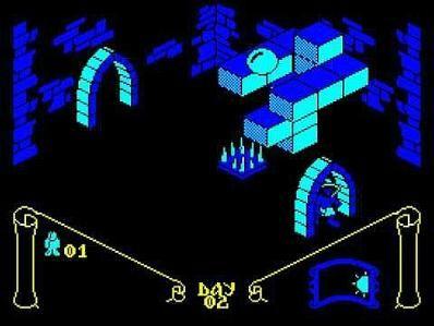 Knight Lore - Amstrad CPC 464 screenshot