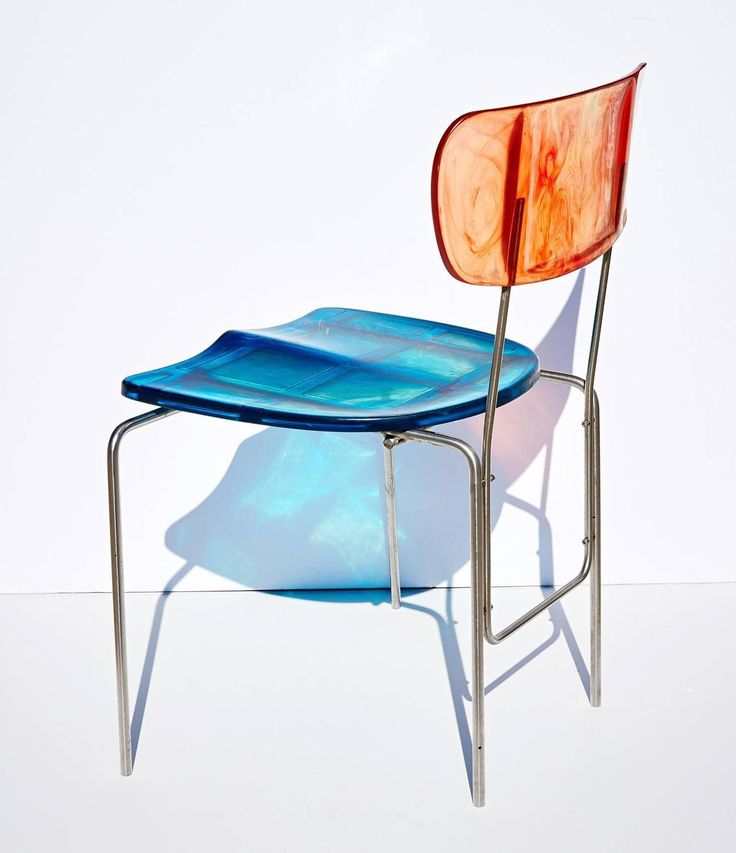 """Two """"Broadway"""" Chairs by Gaetano Pesce 9"""