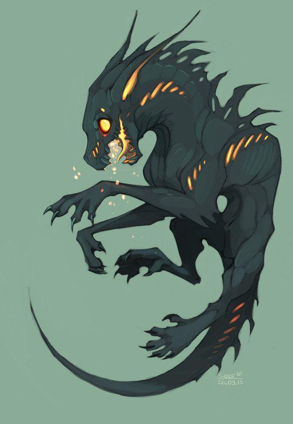 Drakespawn Fire-spitting by SHADE-ShyPervert