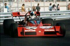 Martini in the early days with Tecno and Chris Amon (Monaco)