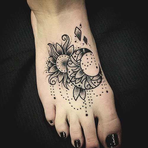 50 Markante Fuß Tattoos Designs und Ideen für Frauen