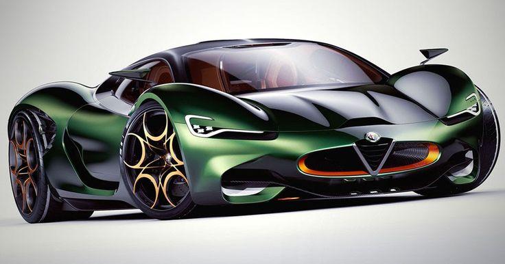 Alfa Romeo Supercar Concept