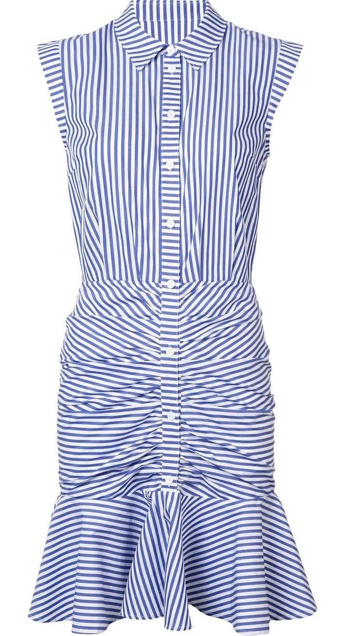 The Fashion Magpie / Veronica Beard striped dress.