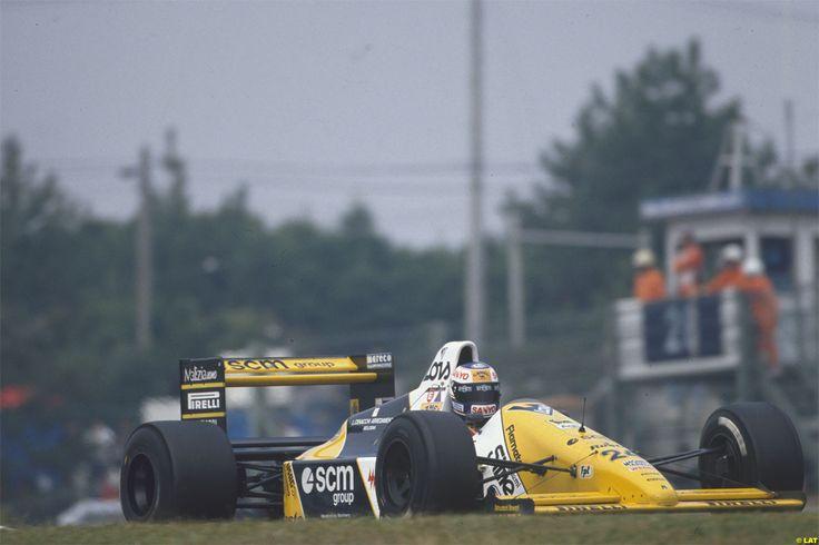 Luis Perez-Sala Minardi Suzuka 1989