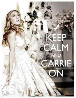 keep calm & carrie on