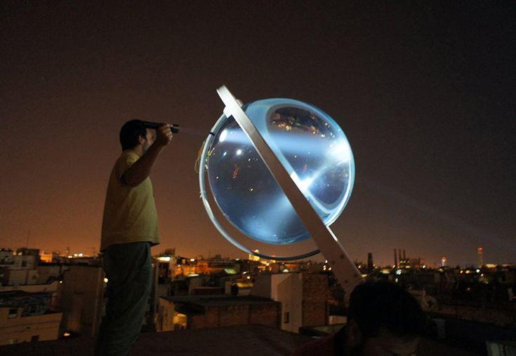 Rawlemon Küresel Güneş Enerjisi Jeneratörü
