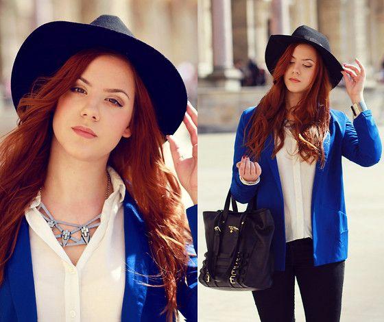 H&M Necklace, H&M Shirt, Romwe Jacket
