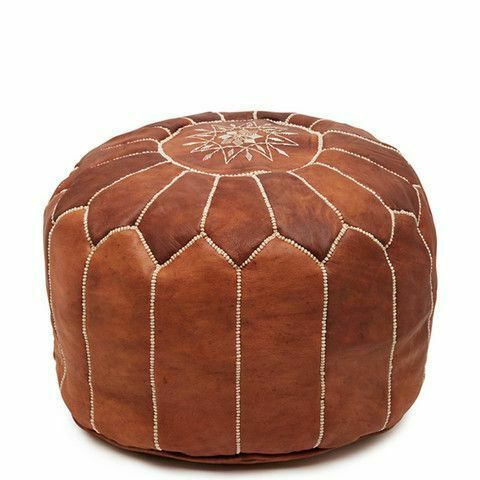 Authentic Moroccan Pouf Leather Pouf Ottoman Pouffe Footstools Ottoman Pouf Handmade Moroccan Leather Pouf Ottoman Pouf Ottoman Pouf Footstool