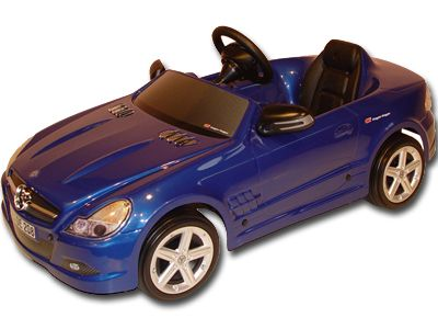 deep blue mercedes sl for kids 3 5 years old