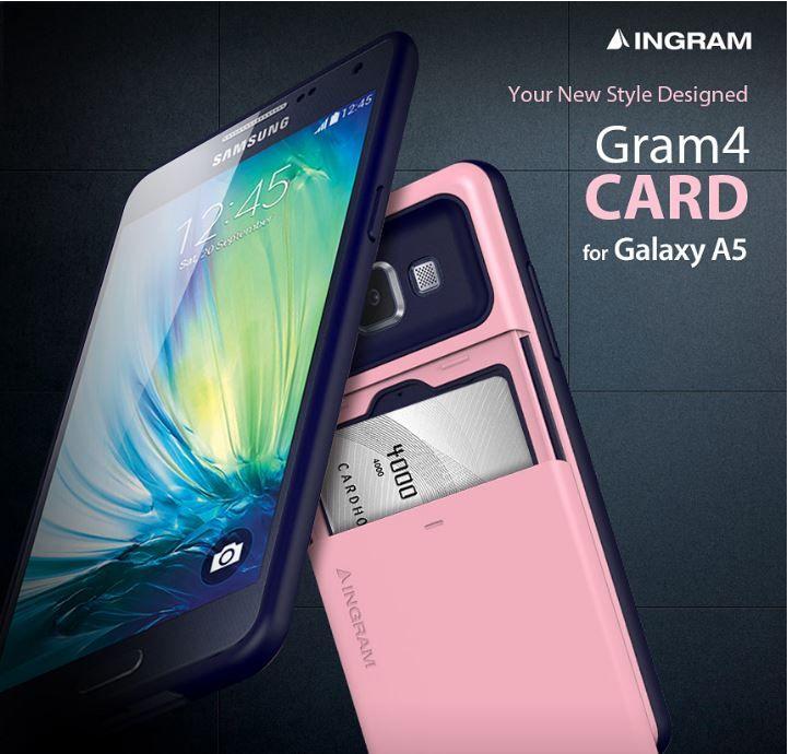 INGRAM GRAM 4 CARD CASE FOR SAMSUNG GALAXY A5. $29.99