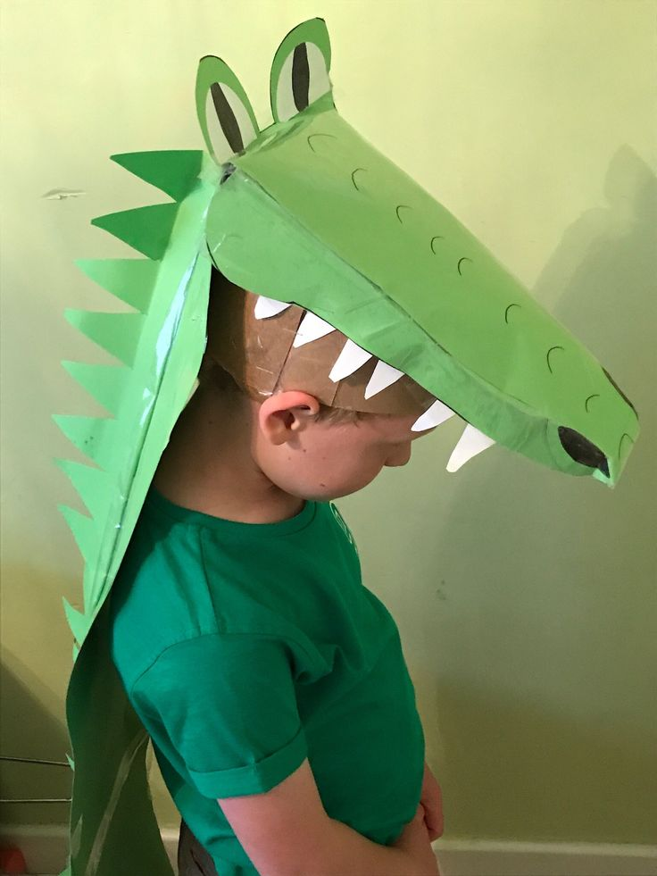 Enormous  crocodile costume for roald Dahl day