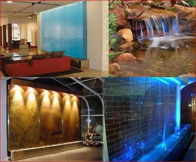 how to build an indoor water feature