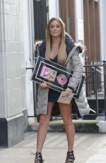 Charlotte Crosby in skintight plunging dress as she promoting her Fitness DVD http://celebs-life.com/charlotte-crosby-skintight-plunging-dress-promoting-fitness-dvd/  #charlottecrosby